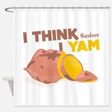Think Yam Shower Curtain