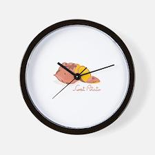 Sweet Potato Wall Clock