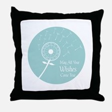 Wishes Come True Throw Pillow