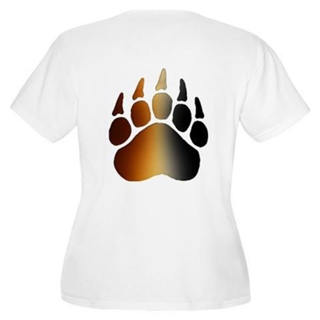 BEAR Paw 2 - Women's Plus Size Scoop Neck T-Shirt