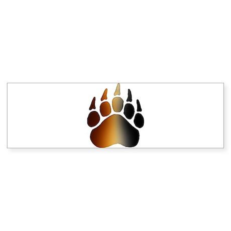 BEAR Paw 2 - Bumper Sticker