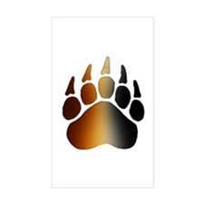 BEAR Paw 2 - Rectangle Decal