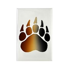 BEAR Paw 2 - Rectangle Magnet
