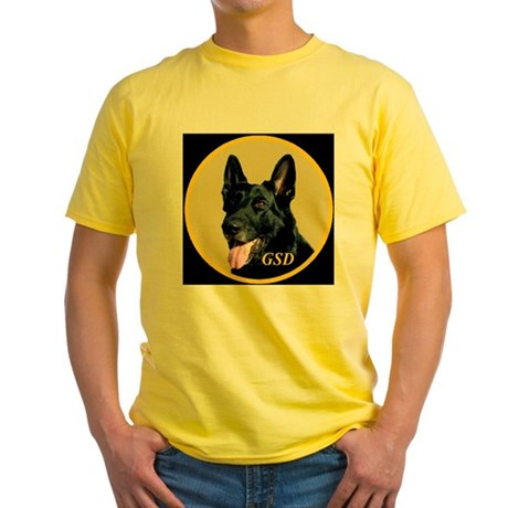 GSD Style 2 Yellow T-Shirt