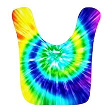 Rainbow Tie Dye Bib
