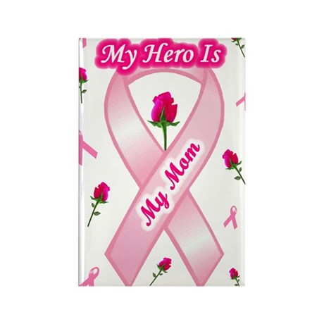 My Mom My Hero Rectangle Magnet (10 pack)