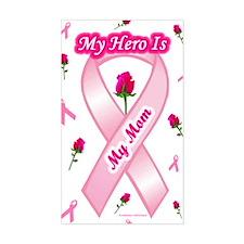 My Mom My Hero Rectangle Decal