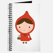 Cute Little Red Riding Hood Girl Journal