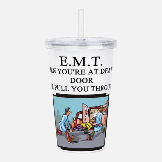 EMT.png Acrylic Double-wall Tumbler