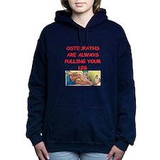 osteopath joke Women's Hooded Sweatshirt
