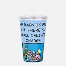 DELIVERY.png Acrylic Double-wall Tumbler