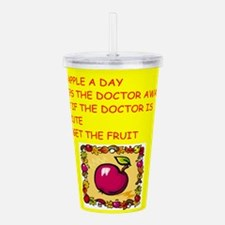 DOCTOR.png Acrylic Double-wall Tumbler