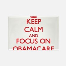 Keep Calm and focus on Obamacare Magnets