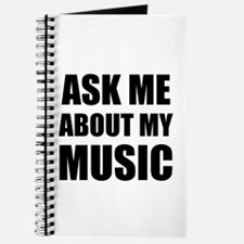 Ask me about my Music Journal
