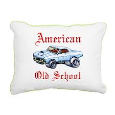 Chevelle old school Rectangular Canvas Pillow