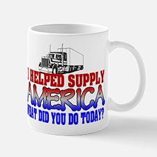 Helped Supply America Trucker Mugs