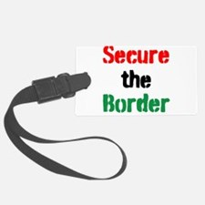 Secure the Border Luggage Tag