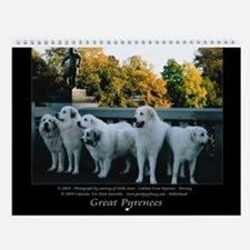 Great Pyrrenees Wall Calendar I