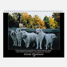 Great Pyrrenees Wall Calendar I, 2016
