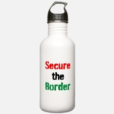 Secure the Border Water Bottle