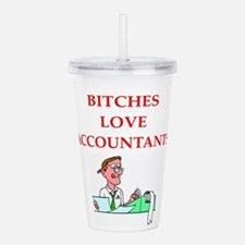 accountantt Acrylic Double-wall Tumbler