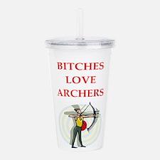 archery Acrylic Double-wall Tumbler