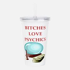 psychic Acrylic Double-wall Tumbler