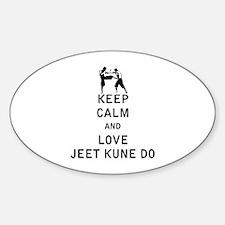 Keep Calm and Love Jeet Kune Do Decal