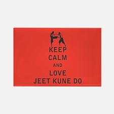 Keep Calm and Love Jeet Kune Do Magnets