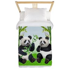 LOVING PANDAS Twin Duvet