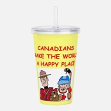 CANADIAN.png Acrylic Double-wall Tumbler