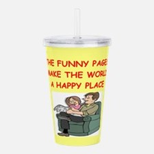 FUNNY.png Acrylic Double-wall Tumbler