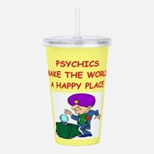 PSYCHIC.png Acrylic Double-wall Tumbler
