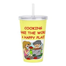COOKING.png Acrylic Double-wall Tumbler