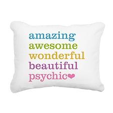 Cute Psychic Rectangular Canvas Pillow