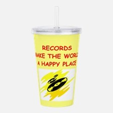 RECORDS.png Acrylic Double-wall Tumbler