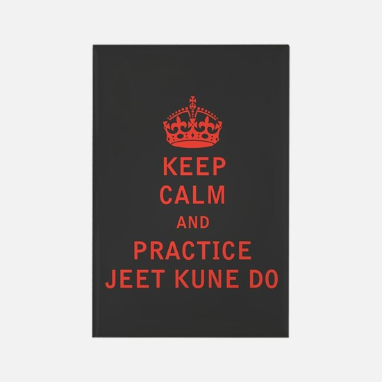 Keep Calm and Practice Jeet Kune Do Magnets