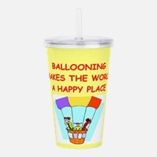 BALLOON.png Acrylic Double-wall Tumbler