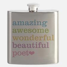 Cute Haiku Flask