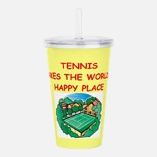 TENNIS.png Acrylic Double-wall Tumbler