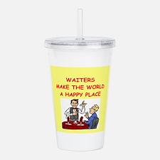 Waiter.png Acrylic Double-Wall Tumbler