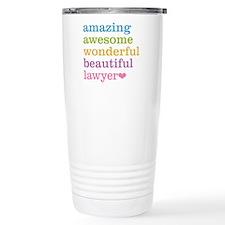 Unique Cool lawyer Travel Mug