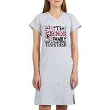 Love is the tie that binds this Women's Nightshirt
