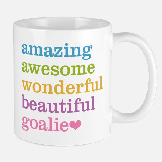 Amazing Goalie Mugs