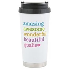 Funny Goalie Travel Mug