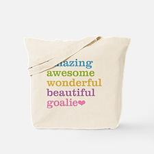Cute Hockey goal Tote Bag