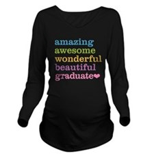 Funny Higher education Long Sleeve Maternity T-Shirt