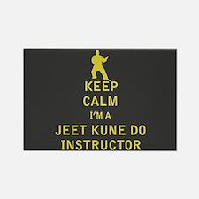 Keep Calm I'm a Jeet Kune Do Instructor Magnets
