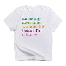 Cute Editor Infant T-Shirt