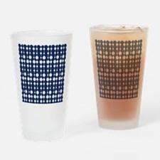 Polka Dots Pendant Pattern Drinking Glass